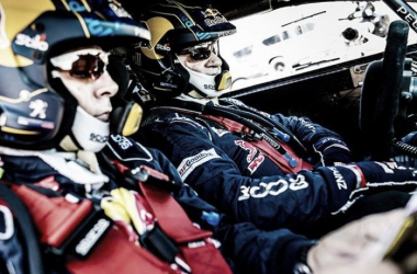 Sainz, optimista   Foto: Peugeot Sport