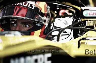 Carlos Sainz en los entrenamientos libres del GP de Estados Unidos 2018 | Foto: Getty Images