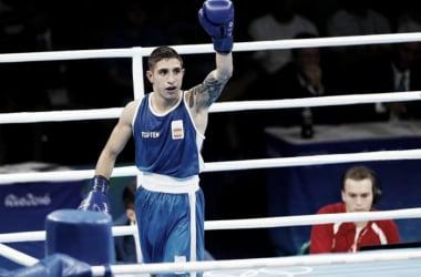 Samuel Carmona durante su combate | Foto: COE