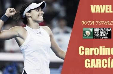 WTA Finals 2017. Caroline Garcia: la última invitada al fin de fiesta