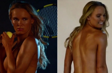 Wozniacki bares all in ESPN's The Body Issue (Eric Lutzens/ESPN)