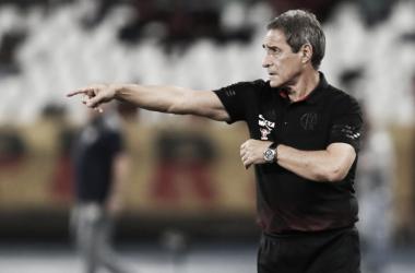 Carpegiani deixa o Flamengo após 11 vitórias, três empates e três derrotas (Foto: Gilvan de Souza/Flamengo)
