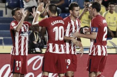 Así llega el Atlético de Madrid a Mestalla