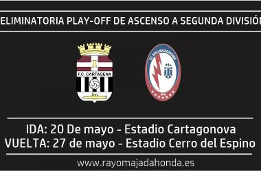 Cartagena y Rayo Majadahonda se enfrentarán por una plaza en Segunda