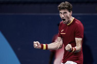Resumen Novak Djokovic 1-2 Pablo Carreño en Tenis Masculino por los Juegos Olímpicos 2020