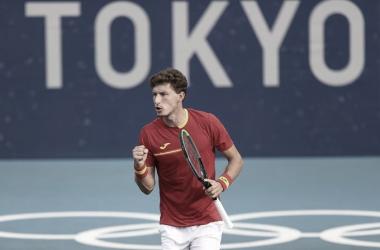 Resumen Pablo Carreño 0-2 Kachanov en Tokio 2020