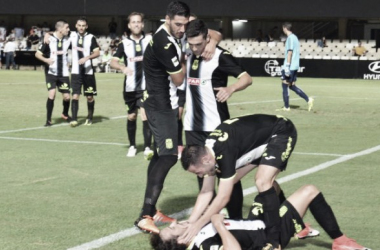 La solidez del FC Cartagena le da la victoria sobre el Mirandés en Copa del Rey