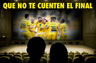 Con este cartel, el club madrileño arrancó la campaña de abonados en la segunda vuelta | Foto: Adalcorcon.com