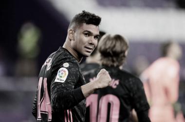 Casemiro se convierte en el segundo realizador del Real Madrid