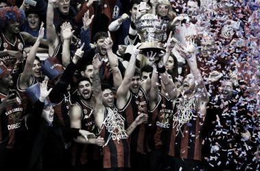 El primer campeonato de San Lorenzo fue en la temporada 2016-2017. Foto: sitio oficial CASLA