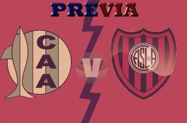 Previa San Lorenzo vs Aldosivi