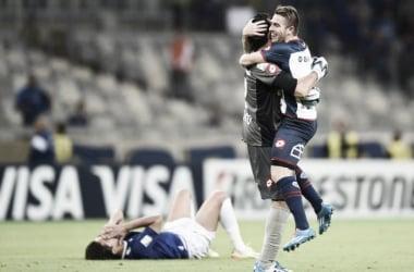 Tras empatar con Cruzeiro en Brasil, el 'Cuervo' avanzó a las semis de la Libertadores 2014 | Foto: Olé