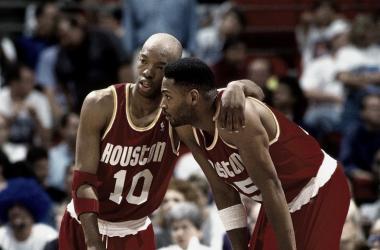 Sam Cassell y Robert Horry en los Playoffs de 1994 I NBA