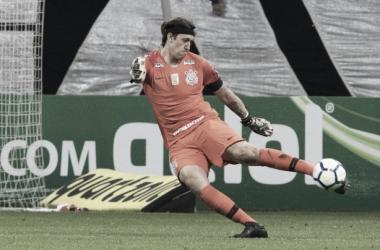 Cássio revela pedido de desculpas da arbitragem após gol ignorado do Corinthians no clássico