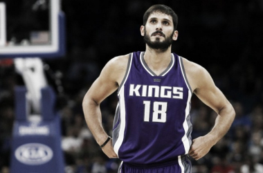 The Sacramento Kings traded Omri Casspi as part of the blockbuster DeMarcus Cousins deal. | USA-TODAY Sports