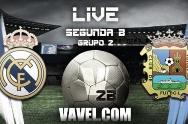 Resultado Fuenlabrada vs Real Madrid Castilla en Segunda División B (1-1)