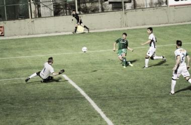 Castillejos marcó el 3-0 parcial. (Foto: Ferro Oficial)