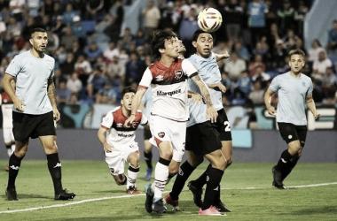 Formica disputó 20 minutos ante Belgrano la pasada fecha. Foto: Rosario 3