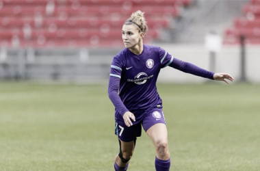 Catley with the Orlando Pride | Photo: Daniel Bartel/ISI