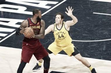 Nadie pudo parar a LeBron anoche, y ha conseguido igualar su serie. | Foto: NBA.com/Cavaliers