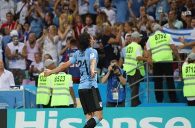 Doppietta del Matador, Uruguay ai quarti - Twitter Uruguay