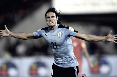 Cavani, con las pilas cargadas | Foto: Federación Uruguaya de Fútbol