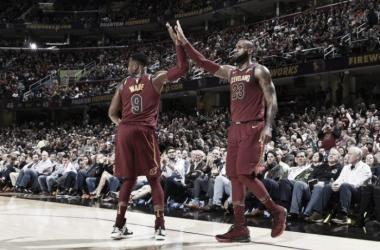 LeBron tuvo una performance magnífica para guiar a su equipo a la victoria. Foto: NBA