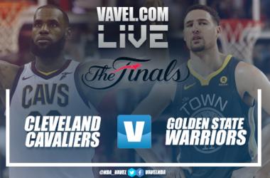 Resumen Cleveland Cavaliers 102-110 Golden State Warriors en Finales de la NBA 2018