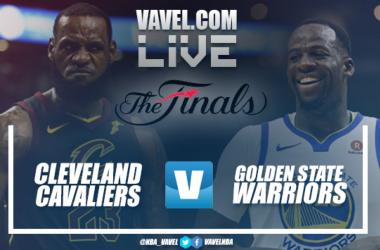Resumen Cleveland Cavaliers 85-108 Golden State Warriors en Finales NBA 2018