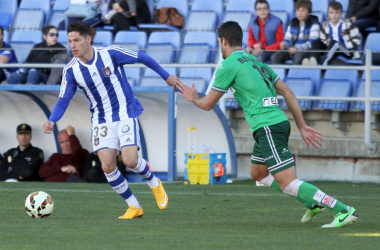 Caye Quintana regresa al Recreativo de Huelva (Foto: Josué Correa).
