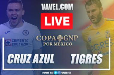 Penalty Kicks and Highlights: Cruz Azul 1(4)-(3)1 Tigres in 2020 Copa GNP Friendly