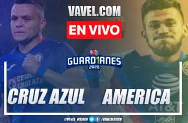 Resumen del partido Cruz Azul 0-0 América en Liga MX 2020