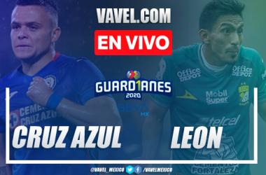 Goles y resumen del Cruz Azul 2-0 León en Liga MX 2020