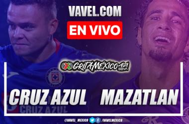 Goles y resumen del Cruz Azul 0-2 Mazatlán en Liga MX 2021