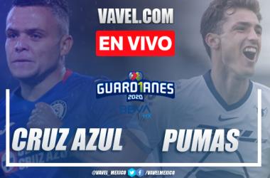 Goles y resumen: Cruz Azul 4-0 Pumas en Semifinales de Liga MX Guard1anes 2020