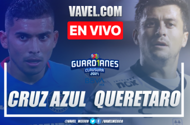 Goles y resumen: Cruz Azul 4-1 Querétaro en Liga MX Guardianes 2021