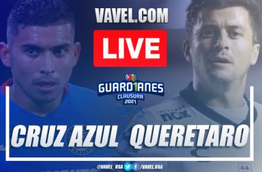 Goals and Highlights Cruz Azul 4-1 Queretaro, 2021 Liga MX