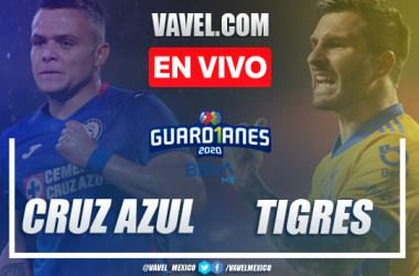 Goles y resumen: Cruz Azul 0-2 Tigres en Guardianes 2020