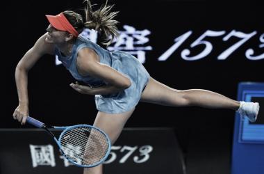 Sharapova mostrou bom ritmo ao garantir vaga na terceira ronda do Slam (Foto: Divulgação/WTA)