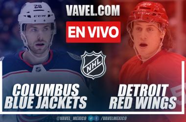 Resumen y goles: Blue Jackets 1-4 Red Wings en NHL 2021-22