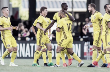 The Columbus Crew had full control of tonight's game against the Sounders | Source: Trevor Ruszkowski-USA TODAY Sports