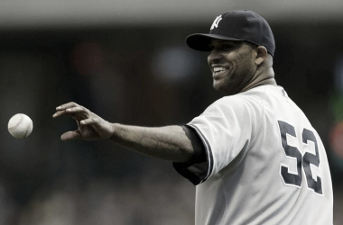 Sabathia en un partido con los Yankees / Foto: Getty Images