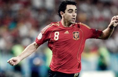Xavi se sincera de cara al Mundial / FOTO Selección Española