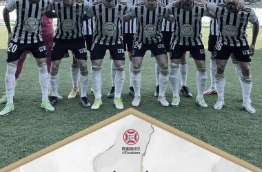 Once del CD Badajoz para enfrentarse al Racing de Ferrol// Foto: CD Badajoz