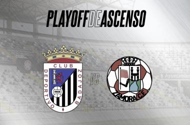 CD Badajoz-Zamora CF, 16 de mayo en el Estadio Francisco de la Hera// Foto: CD Badajoz