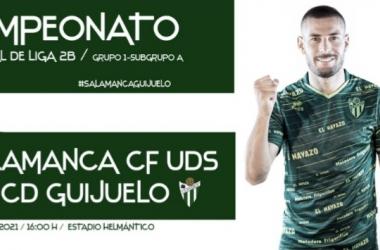 Salamanca CF - CD Guijuelo. Foto: CD Guijuelo
