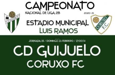 Guijuelo - Coruxo. Foto: CD Guijuelo