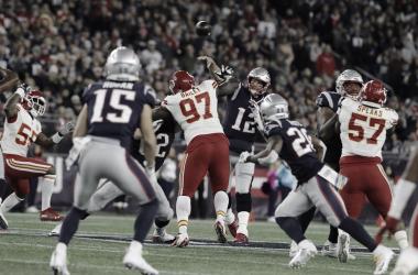 Patriots venció a Chiefs en el único partido que disputaron en la temporada // Foto: NFL oficial.