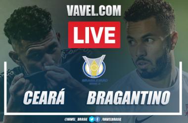 Gols e melhores momentos de Ceará 1 x 2 RB Bragantino pelo Campeonato Brasileiro
