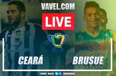 Gols e melhores momentos de Ceará 5 x 1 Brusque pela Copa do Brasil 2020